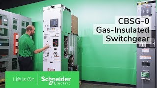 CBSG-0 Gas-Insulated Switchgear Overview Schneider Electric