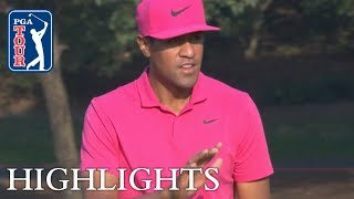 Tony Finau's Round 3 highlights from HSBC Champions 2018