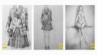 Bài diễn họa thời trang - DECer Mai Kiều Ánh