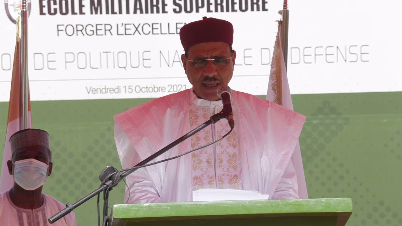 Intégralité du discours de la Déclaration de Politique Nationale de Défense par le Président Bazoum