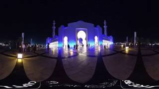 Explore The Sheikh Zayed Grand Mosque | Dubai in 360 by Real VR Studios | VR360° Travel Video