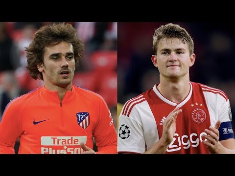 Are Antoine Griezmann & De Ligt on the verge of joining Barcelona?