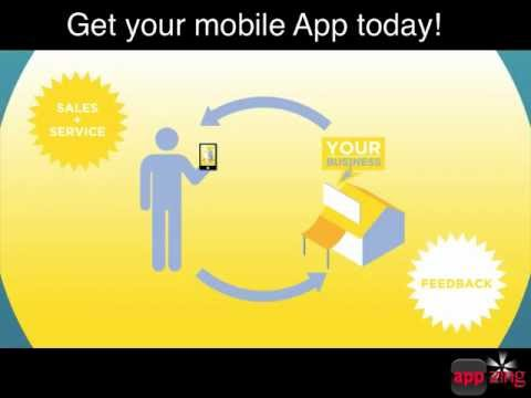 AppZing - Add some Zing to your Business with a customer winning Mobile App