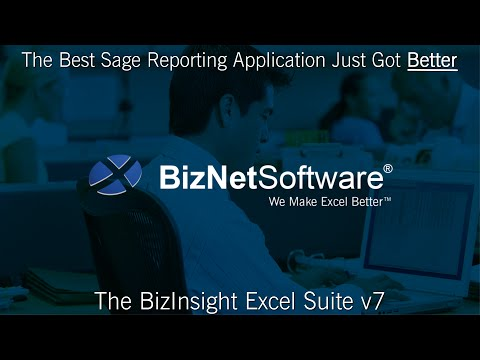 BizInsight 7 for Sage 500