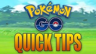 Pokemon GO: THREE QUICK TIPS!
