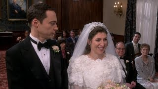 The Big Bang Theory - Sheldon & Amy Wedding Part 1