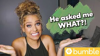 The Worst Date I've Ever Been On! | Funny Bumble Storytime