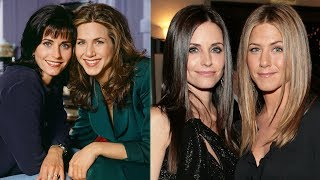Courteney Cox's Sweetest Message Sent To Jennifer Aniston - And The Internet Just Couldn't Take It