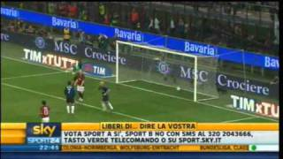 Milan - Inter 3-0 | Highlights Sintesi Sky Sport 24 | 02/04/2011 | 31^ giornata serie A | HQ
