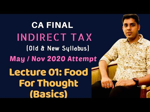 video GST Only New By CA Brindavan Giri CMA FINAL Regular