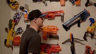 NERF WAR: Chainsaw Fun!
