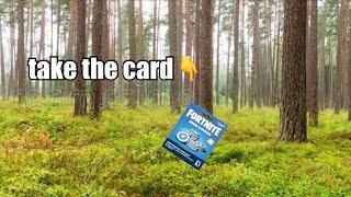 pov you take the card (vr experience)