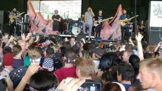 Dance Gavin Dance - Betrayed By The Game (Vans Warped Tour 2017, ATL)