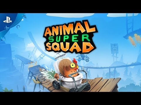 Animal Super Squad Trailer