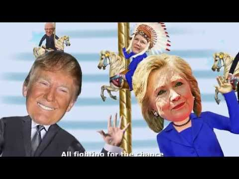 The Candidates from New York Cartoon