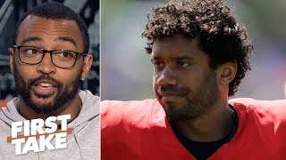 Russell Wilson has 'untapped potential' and room to improve - Doug Baldwin | First Take