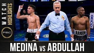 Medina vs Abdullah: HIGHLIGHTS: September 18, 2021 | PBC on FS1