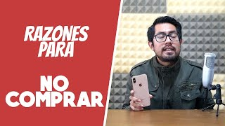 5 Motivos para NO COMPRAR el iPhone Xs Max