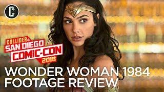Wonder Woman 2 Teaser Review - SDCC 2018