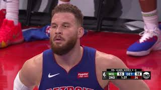 """Blake Griffin Joins Fans In """"Refs, You Suck"""" Chant During Game 4 vs. Bucks"""
