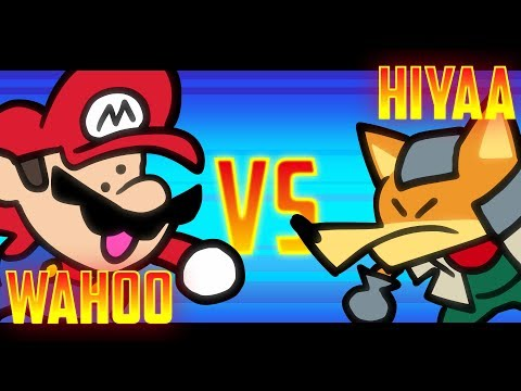Speedrunner Mario VS Melee Fox - 1M Subscriber Special! - SOMETHING VERSUS 🍄🦊