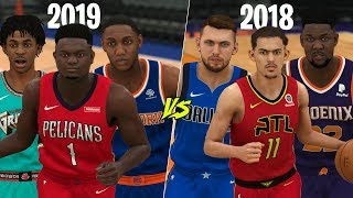 2018 vs 2019 NBA Draft Class | NBA 2K20