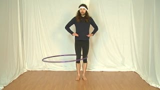 Beginner Hula Hoop Tricks Vol. 3: Knees to Waist Hooping Transfer