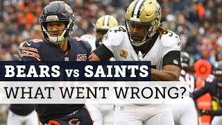 Bears lose to Saints: What went wrong and who's to blame? | Football Aftershow | NBC Sports Chicago