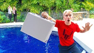 Game Master Mystery Detective Briefcase FOUND in Backyard Pool! (Rebecca Zamolo Reveals New Clues)