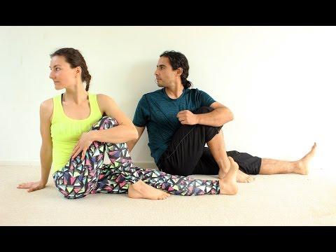 20 yoga para principiantes e intermedio 35 min para - Musica para hacer yoga en casa ...