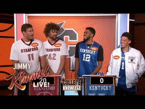 NBA Stars Play College Knowledge - Kentucky vs. Stanford