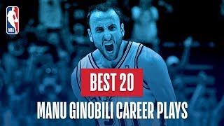 Manu Ginobili's Best 20 Plays of His Career