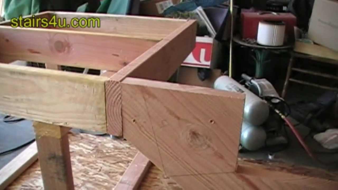 Attaching Stringer To Floor Joist Cantilever Stair