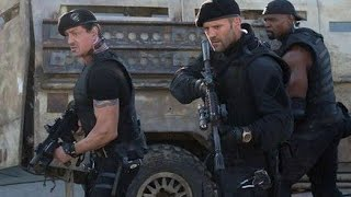 The expendables 2 (2012) hollywood movie's action video clip(1)