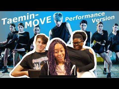 Taemin Move #2 Performance Version  Reaction!