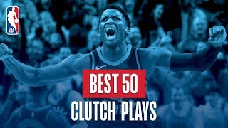 Best 50 Clutch Plays: 2018 NBA Season