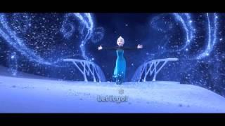 映画「アナと雪の女王」 Frozen Let It Go Sing Along Version #Frozen #Let It Go