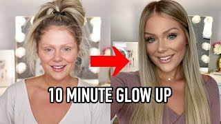 10 MINUTE EVERYDAY MAKEUP TRANSFORMATION | GET READY WITH ME
