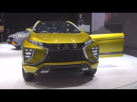 Mitsubishi eX Concept (2016) Exterior and Interior in 3D