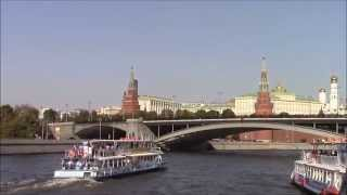 Cruise along the Moskva River, Walk in Moscow, Kremlin, Red Square, Cathedral of Christ the Saviour