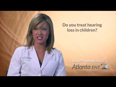 Do you treat hearing loss in children?