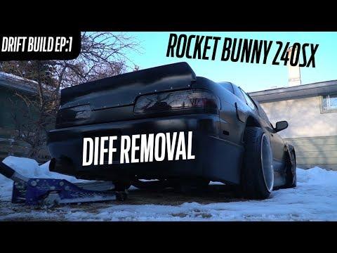 240SX Drift Build EP1: Diff Removal + future plans