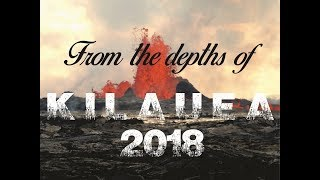 Hawaii Kilauea Volcano Eruption Lava Flow Sights and Sounds in Leilani Estates 2018