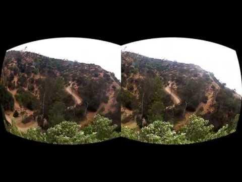 Oculus Rift 3D GoPro Movie test - Hyper Stereo
