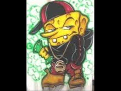 Gangster Spongebob - YouTube  Gangster Sponge...