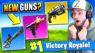 OVER 5 *NEW* GUNS that should be in Fortnite: Battle Royale!