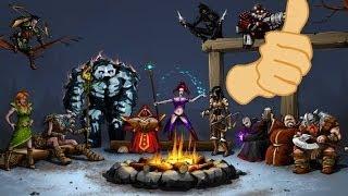 heroes of mangara the frost crown gameplay video