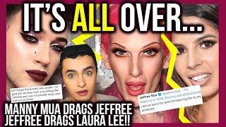 MANNY MUA COMES 4 JOFFREE COMES 4 LAURA LEE!! ... M&J MAKE UP?! cats pajamas makeup tutorial