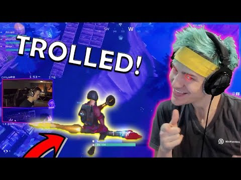 Ninja TROLLS DrLupo!! CDNThe3rd LOSES A 150$ BET! | Fortnite Highlights & Funny Moments #21