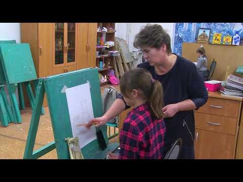 Сюжет о преподавателе ИЗО в Быковской школе искусств Светлане Флоровой